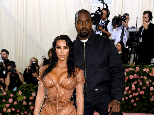 Kim Kardashian West said she was seeking 'total happiness' as she discussed her doomed marriage with Kanye West in the final episode of the family's reality TV show (Jennifer Graylock/PA)