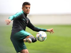 Manchester City defender Joao Cancelo has tested positive for Covid-19 two days before Portugal's opening game at Euro 2020 (Mike Egerton/PA)
