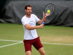 Andy Murray has been practising at Wimbledon for the past week (Mike Egerton/PA)
