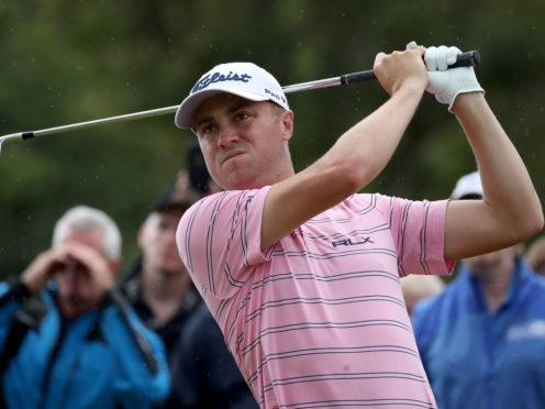 Justin Thomas has offered more than just money to fellow professional Mike Visacki (Jane Barlow/PA)