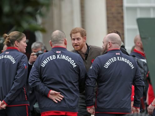 The Duke of Sussex has announced the Invictus Games will be held in Germany for the first time in 2023 (Yui Mok/PA)