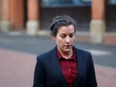 Police constable Mary Ellen Bettley-Smith, who is accused assaulting Dalian Atkinson on the day he died (Steve Parsons/PA)