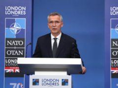 Secretary General of Nato Jens Stoltenberg (Steve Parsons/PA)