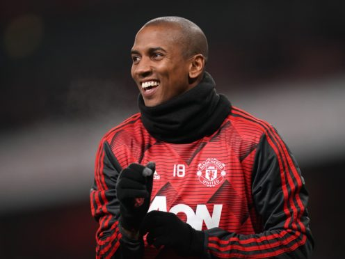 Ashley Young previously played for Aston Villa between 2007 and 2011 before joining Manchester United (John Walton/PA)