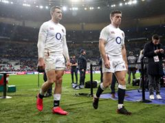 Jonny May (left) and George Ford have been rested for England's summer Tests (David Davies/PA)