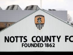 Mark Ellis' 90th-minute header gave Notts County a 3-2 victory over local rivals Chesterfield (Mike Egerton/PA)