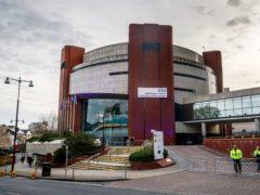 The Nightingale Hospital at Harrogate Convention Centre in Harrogate (Danny Lawson/PA)