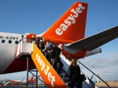 EasyJet has moved aircraft from the UK to Germany in response to the countries' differing approaches to coronavirus travel restrictions (Matt Alexander/PA)