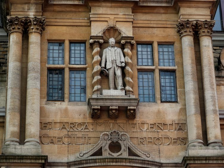 Oriel College made a decision not to remove the Rhodes statue, arguing that the timeframe and cost were 'considerable obstacles' (Steve Parsons/PA)