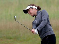 Georgia Hall is seeking a second major title in the US Women's Open (Jane Barlow/PA)