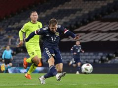 Ryan Fraser fired the winner the last time Scotland faced the Czech Republic (Andrew Milligan/PA)