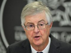 Wales First Minister Mark Drakeford said boosting salaries for people across the whole of the social care workforce will 'recognise the huge contribution' they have made during the coronavirus pandemic (Ben Birchall/PA)
