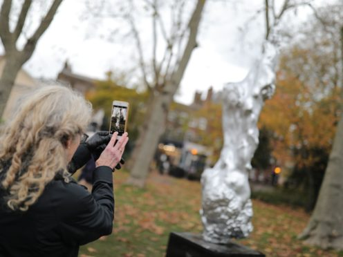 Maggi Hambling's A Sculpture For Mary Wollstonecraft (Aaron Chown/PA)