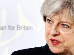 Theresa May (Jane Barlow/PA)