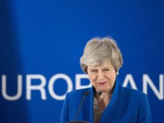 Theresa May has been tipped as a future head of Nato (Stefan Rousseau/PA)
