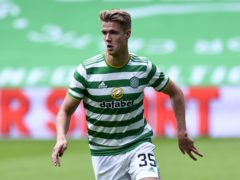Celtic's Kristoffer Ajer has been linked with Newcastle (Ian Rutherford/PA).
