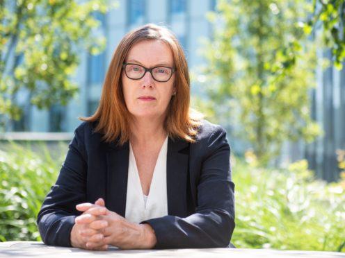 Professor Sarah Gilbert, the British vaccinologist who led the team behind the Oxford/AstraZeneca jab (Oxford University/PA)