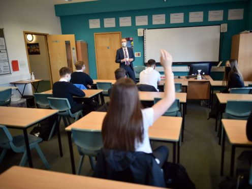 School leaders do not believe extending the school day is the best way for pupils to catch up on learning (Ben Birchall/PA)