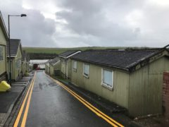 Penally Camp in Wales (ICIBI/HMIP/PA)