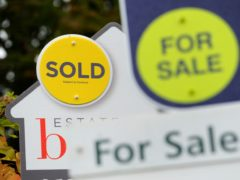More than half of home owners are stuck in a property that does not meet their needs, according to Zoopla (Andrew Matthews/PA)