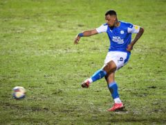 Jonson Clarke-Harris scored 31 goals for Peterborough as they won automatic promotion (Joe Giddens/PA)