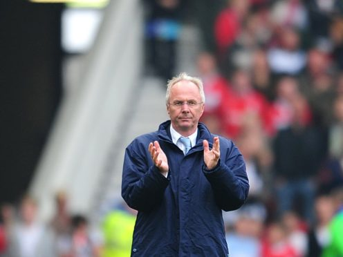 Sven-Goran Eriksson was in charge for just one season at Manchester City (Gareth Copley/PA)