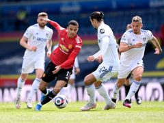 Manchester United and Leeds will meet on the opening day of the season (Laurence Griffiths/PA)