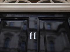 The door of 11 Downing Street (Victoria Jones/PA)