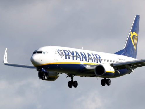 The CMA has launched an investigation into Ryanair and BA over refunds during Covid (Niall Carson/PA)