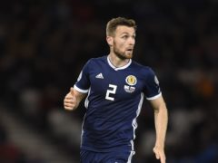 Scotland's Stephen O'Donnell (Ian Rutherford/PA)