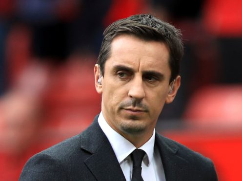 Gary Neville got his England team line-up prediction wrong (Mike Egerton/PA)