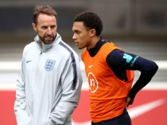 """Gareth Southgate said it was """"heartbreaking"""" to lose Trent Alexander-Arnold to a thigh injury ahead of the European Championship. (Tim Goode/PA)"""