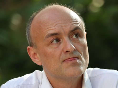 A High Court judge has ruled that a Government decision to award a contract to a company whose bosses were friends of adviser Dominic Cummings gave rise to 'apparent bias' and was unlawful (Jonathan Brady/PA)