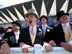 Racegoers enjoying the action at Royal Ascot (Mike Egerton/PA)