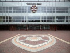 Andy Irving has left Tynecastle (Jane Barlow/PA)