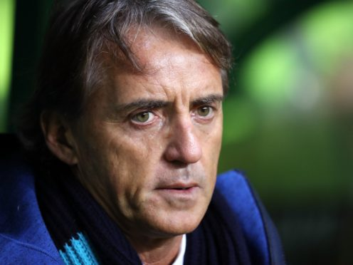 Roberto Mancini is aiming to extend Italy's extraordinary run of results (Andrew Milligan/PA)
