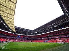 The pitch at Wembley Stadium (Mike Egerton/PA)