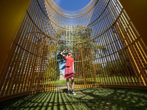 Ai Weiwei sculpture at Blenheim Palace (Jacob King/PA)