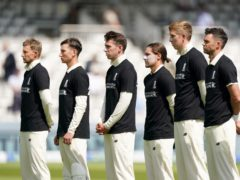 England will once again wear anti-discrimination t-shirts against New Zealand (Adam Davy/PA)
