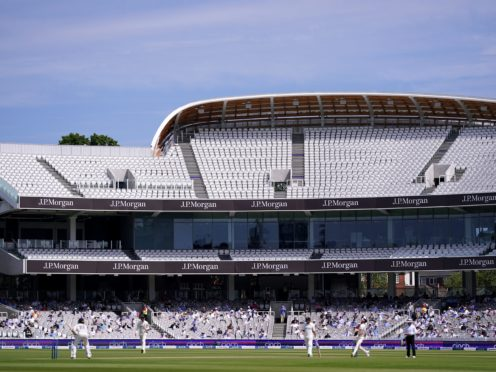 Test cricket returned to Lord's (Adam Davy/PA)