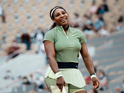 Serena Williams won a three-set battle with Mihaela Buzarnescu (Thibault Camus/AP)