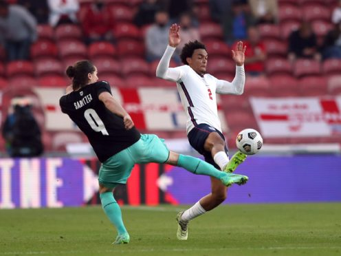 England boss Gareth Southgate cast doubt over Trent Alexander-Arnold's Euro 2020 hopes after the defender limped off towards the end of the warm-up friendly victory over Austria (Scott Heppell/PA)