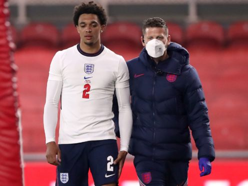 Trent Alexander-Arnold is a doubt for Euro 2020 after being injured against Austria (Scott Heppell/PA)