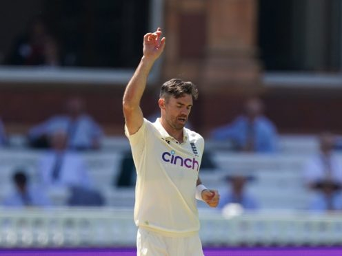 James Anderson is England's most capped Test player (Adam Davy/PA)