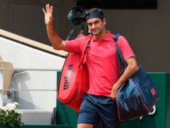 Roger Federer has bade farewell to the French Open (Michel Euler/AP)