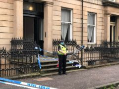 Esther Brown was found dead at her flat in the Woodlands area of Glasgow (Douglas Barrie/PA)