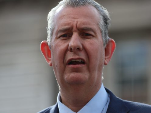DUP leader Edwin Poots has resigned from the post just weeks after he was appointed (PA)