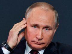 Russian President Vladimir Putin (TASS/AP)