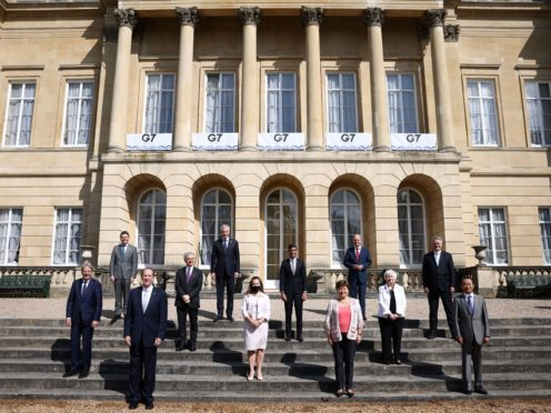 The G7 finance ministers concluded their meeting on Saturday with an agreement to reform global business taxes (Henry Nicholls/PA)