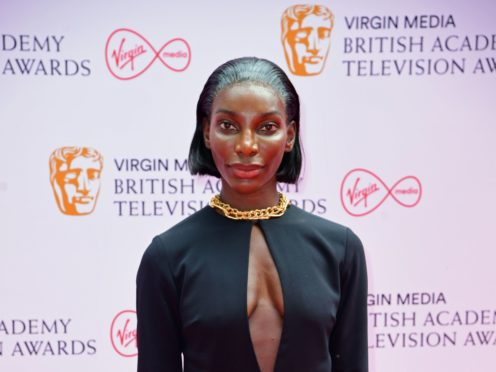Michaela Coel has said she did not expect so many people to identify with her Bafta-winning series I May Destroy You (Ian West/PA)